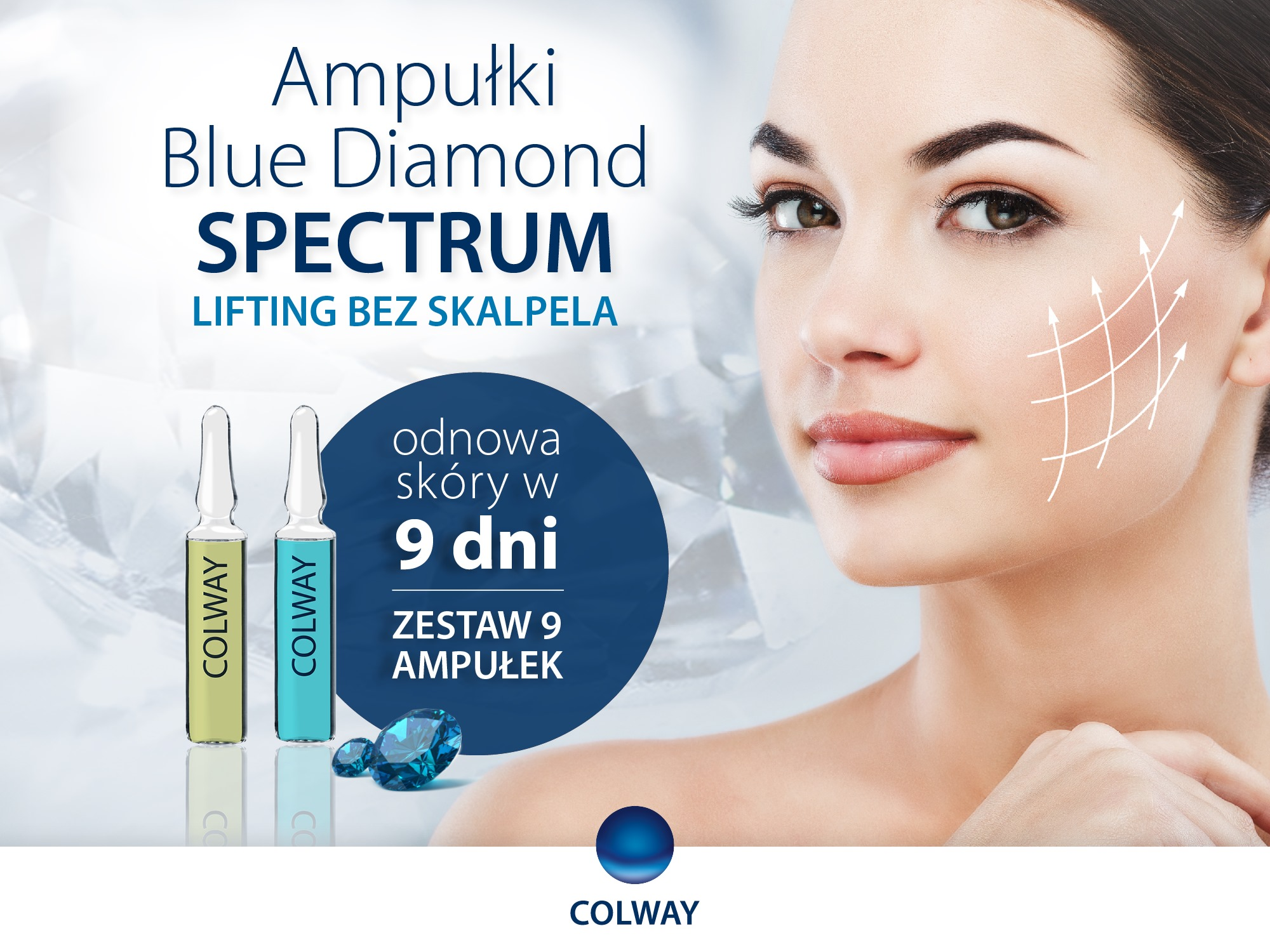 Ampułki BLUE DIAMOND SPECTRUM