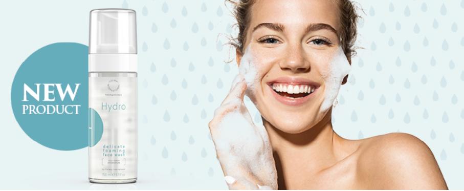 Pianka do mycia twarzy