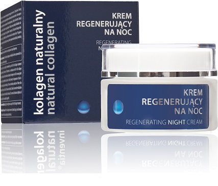 Krem regenerujący na noc Natural Collagen